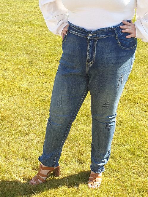 Paperbag High Waist Jeans