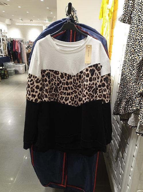 Animal Print Sweatshirt