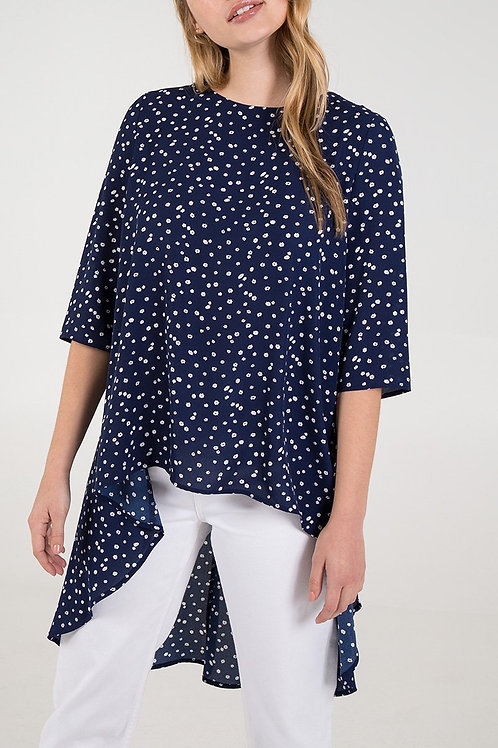 High Low Top with Tie Back