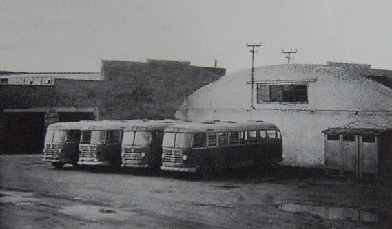 Наши первые автобусы