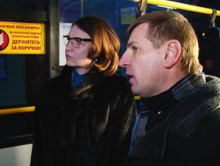 Оксана Фадина познакомилась с работой пассажирского предприятия № 7