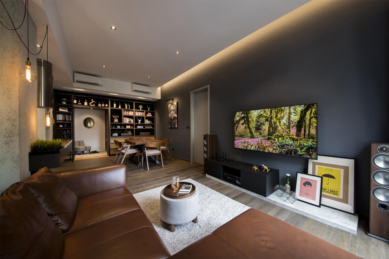 Living-dining-foyer