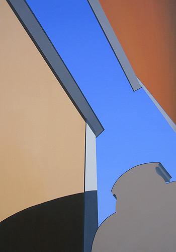 Quirinalen, olja på duk, 70 x 100 cm