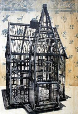 Två fåglar, 116 x 80 cm