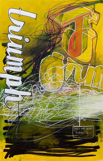 Triumph Formula, 51,5 cm x 82 cm