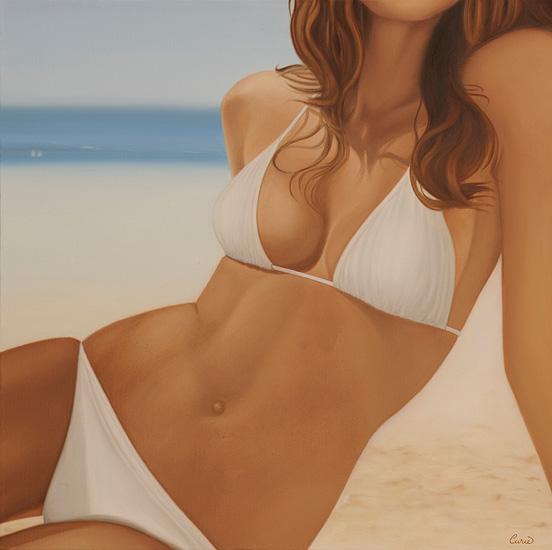 Bikini, 60 x 60 x 4 cm