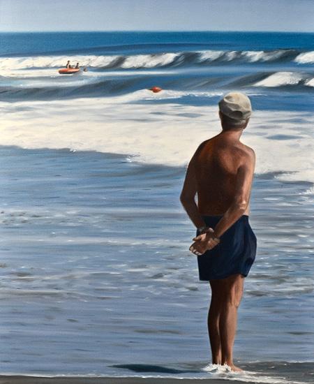 Stranden V, 60 x 73 cm
