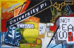 University, 195x125 cm