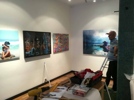 Att hänga en utställning