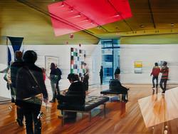 Museum, 75 x 100 cm