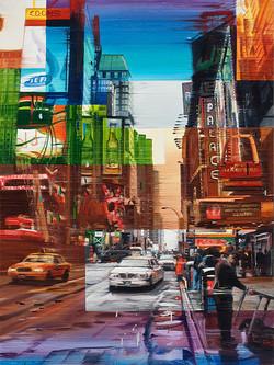 Time Square Palace, 120x90 cm