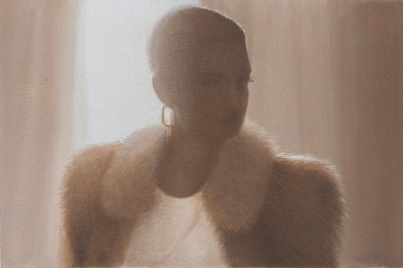 Black Woman, 48 x 42 cm