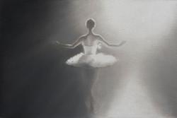 Ballerina, 48 x 42 cm