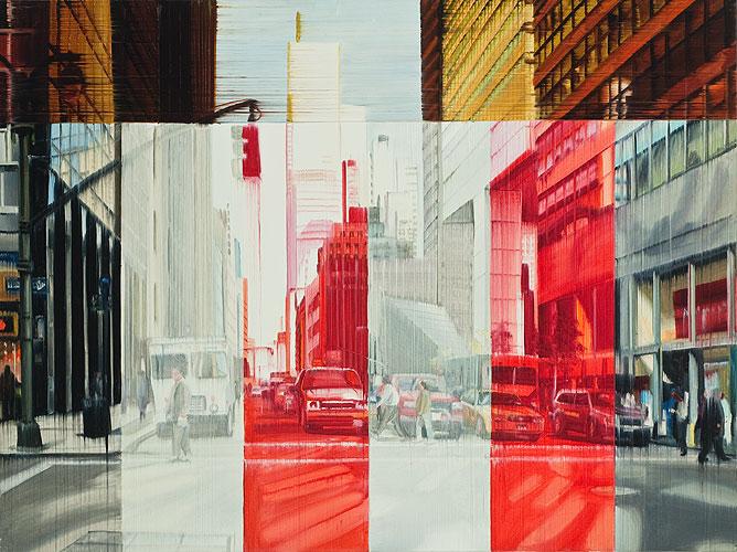 Crosswalk, 75 x 100 cm