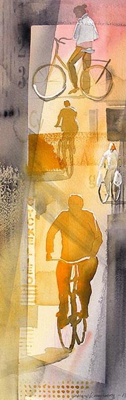 Cykelled, 22 x 67 cm
