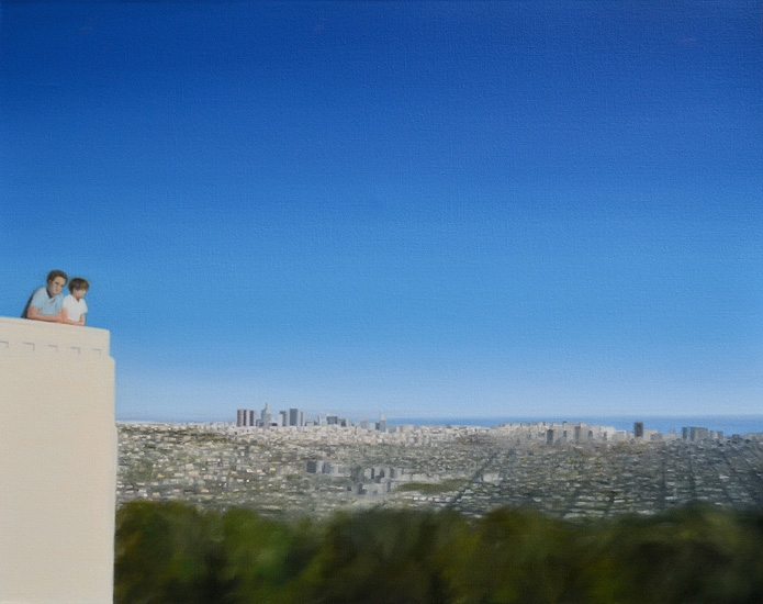 Getty Center, 92 x 73 cm