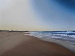 Santa Monica Beach, 116 x 89 cm
