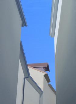 Périgueux II, olja/duk, 50x70 cm