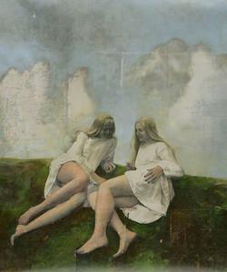 Samtalet II, 100 x 116 cm
