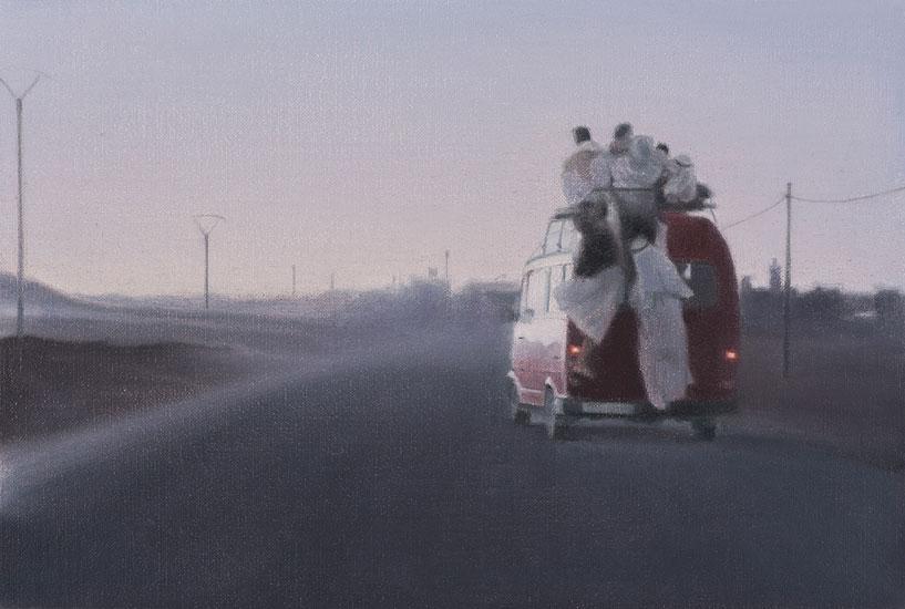 Ride, 48 x 42 cm