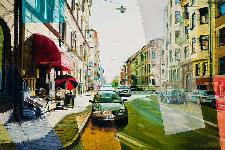 Stockholm, 50 x 75 cm
