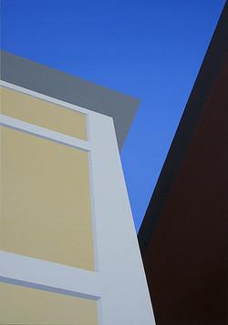 Via Sediari, olja, 70 x 100 cm