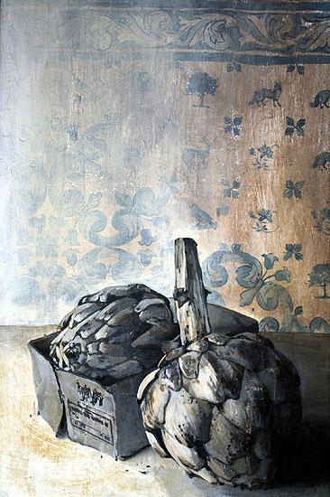Kronärtskockor, 120 x 80 cm