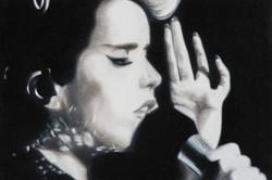 Paloma Faith, 48 x 42 cm