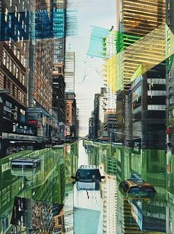 Green river New York , 120 x 90 cm