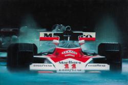 McLaren, 48 x 42 cm