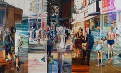 The Long Travel, 70 x 115 cm