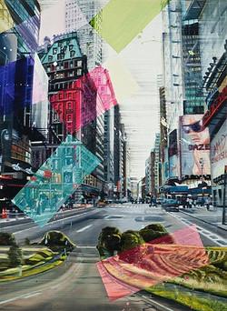 Dazed 5. Ave , 150 x 110 cm