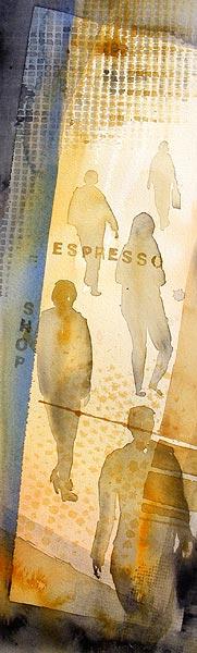 Espresso, 21 x 67 cm