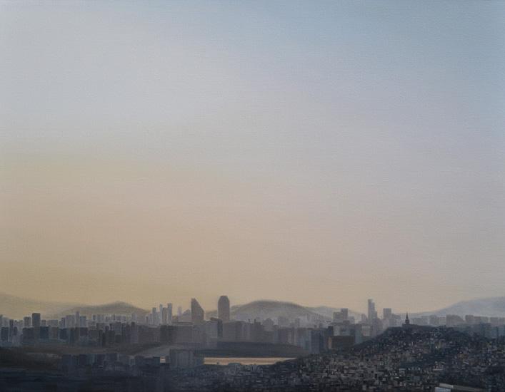 Seoul, 116 x 89 cm