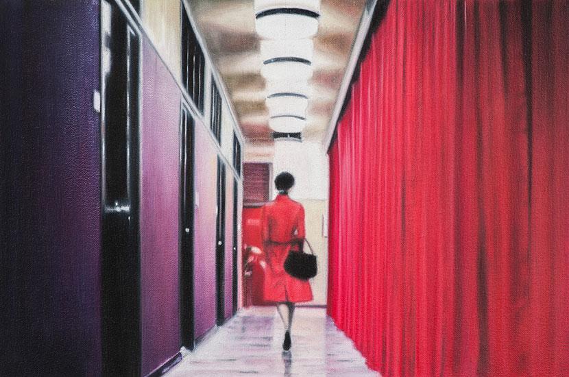 Hallway, 48 x 42 cm