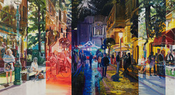A Day In The Life, 75 x 135 cm