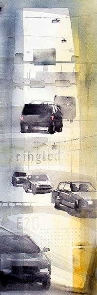 Ringled, 22 x 68 cm