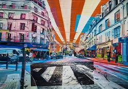 Montmartre, 70x100 cm