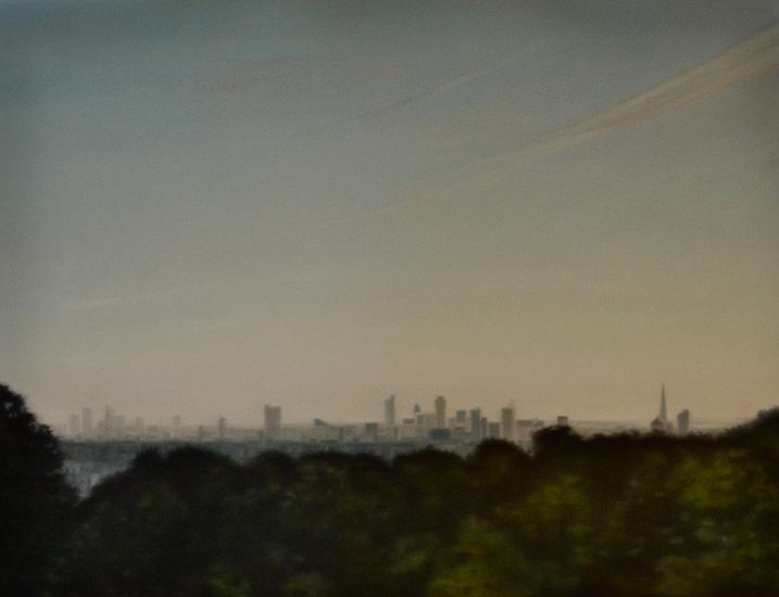 London, 116 x 89 cm
