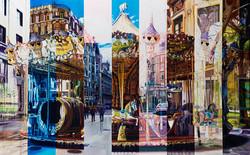 Carousel, 120 x 190 cm