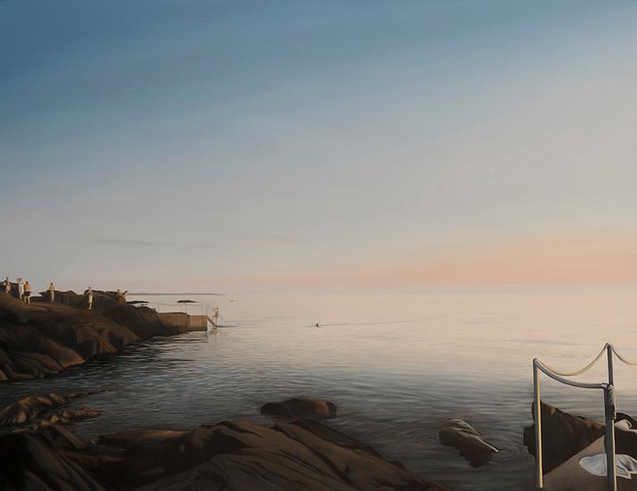 Badstege III, 116 x 89 cm