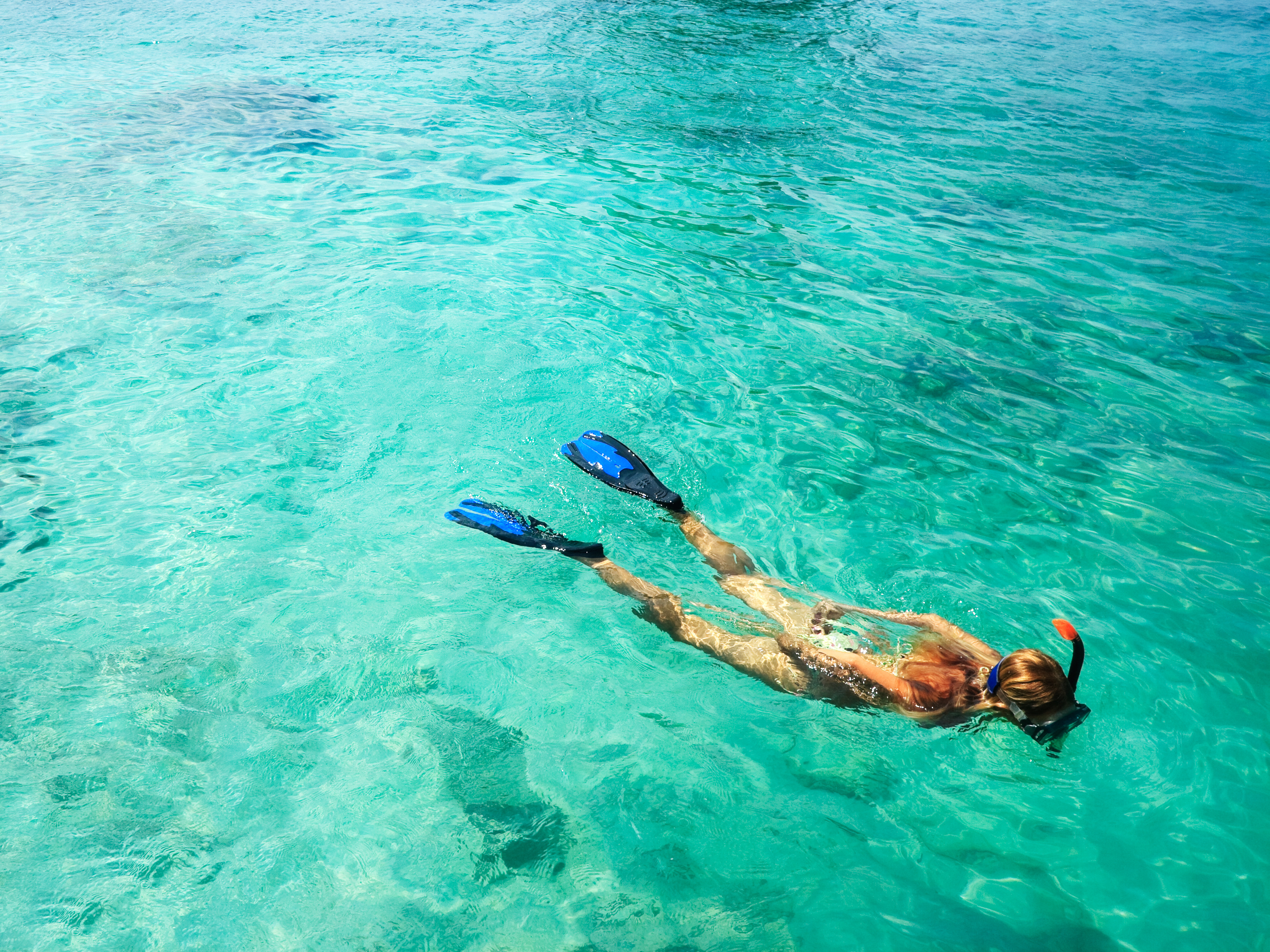 Snorkeling Bamboo Island