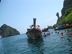 Snorkeling at Koh Gai