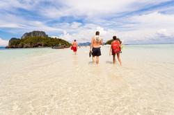 Tub Island sandbanks