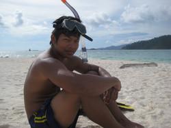 Big snorkeling