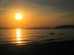 Sunset Aonang