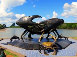 Crab Sculpture