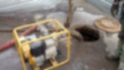 откачка грунтовых и вод и ликвидация разливов
