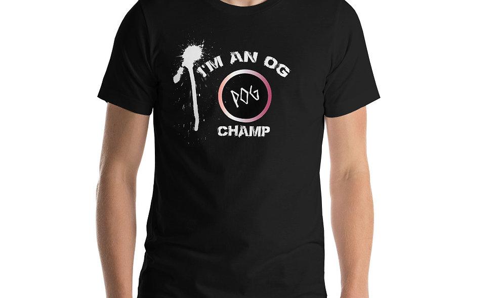 Pog Champ Short-Sleeve Unisex T-Shirt