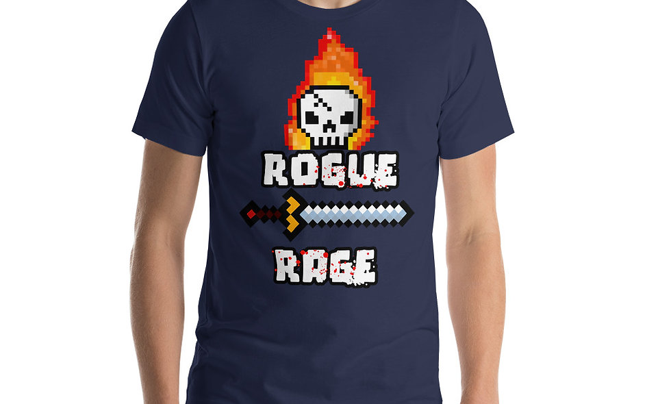 Rogue Rage Short-Sleeve Unisex T-Shirt
